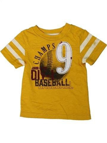 Camiseta de manga corta niño CHEROKEE amarillo 2 años verano #1311995_1