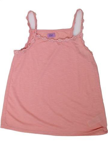 Camiseta sin mangas niña F&F rosa 10 años verano #1311998_1
