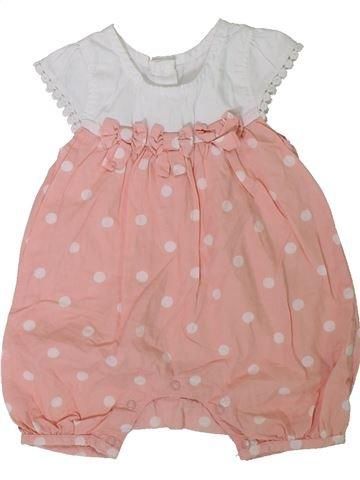 Combinación corta niña MATALAN rosa 3 meses verano #1312037_1