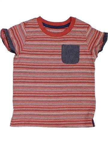 Camiseta de manga corta niño SANS MARQUE marrón 2 años verano #1312045_1