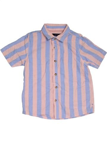 Camisa de manga corta niño MARKS & SPENCER violeta 7 años verano #1312051_1