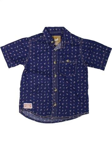 Camisa de manga corta niño PRIMARK azul 4 años verano #1312097_1