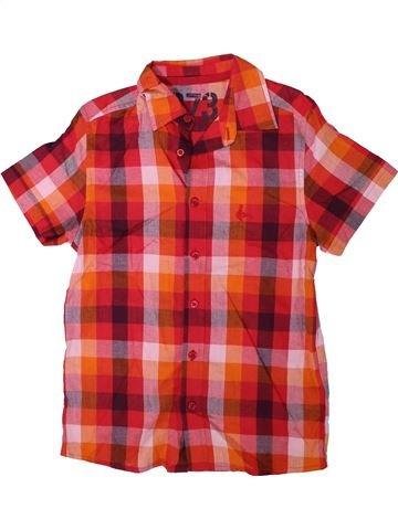 Chemise manches courtes garçon CHEROKEE orange 10 ans été #1312136_1