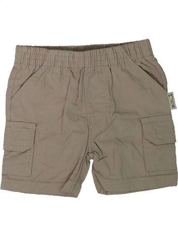 Short-Bermudas niño SANS MARQUE marrón 3 meses verano #1312174_1