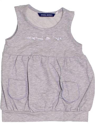 Vestido niña ORIGINAL MARINES gris 6 meses verano #1312554_1