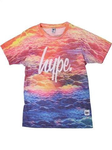 T-shirt manches courtes fille HYPE KIDS rose 13 ans été #1312748_1