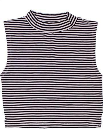 T-shirt sans manches fille SOPHIE blanc 13 ans été #1312905_1