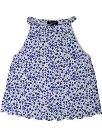 T-shirt sans manches fille NEW LOOK bleu 13 ans été #1313629_1