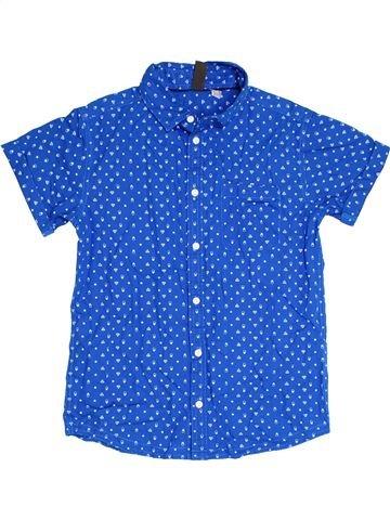 Chemise manches courtes garçon URBAN 65 OUTLAWS bleu 13 ans été #1315095_1