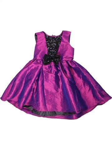 Vestido niña LADYBIRD violeta 7 años verano #1316264_1