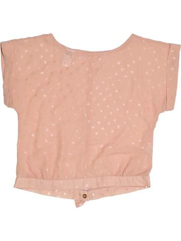 Blusa de manga corta niña KYLIE rosa 12 años verano #1318449_1