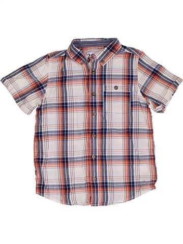 Camisa de manga corta niño BOYS violeta 7 años verano #1319944_1