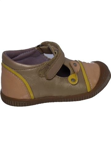 Zapatos con velcro niña KICKERS marrón 20 verano #1321816_1