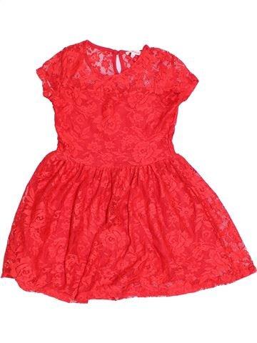 Vestido niña BLUEZOO rojo 7 años verano #1322228_1