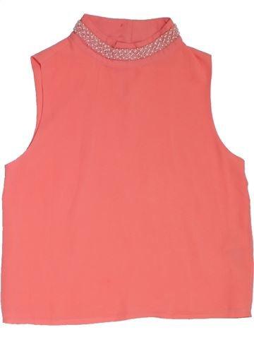Blusa de manga corta niña NEW LOOK rosa 11 años verano #1322381_1