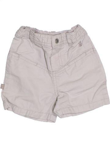 Short - Bermuda garçon OKAIDI blanc 3 mois été #1323239_1
