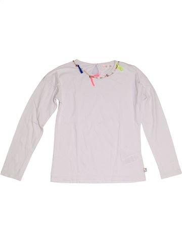 T-shirt manches longues fille BILLIEBLUSH blanc 10 ans été #1323978_1