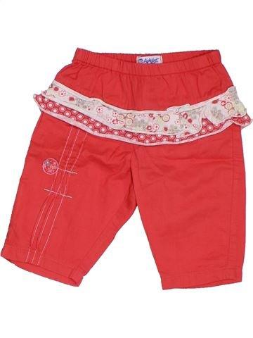 Pantalón niña ALPHABET rojo 3 meses verano #1324330_1