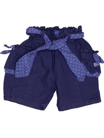 Short - Bermuda fille SERGENT MAJOR bleu 6 mois été #1324340_1