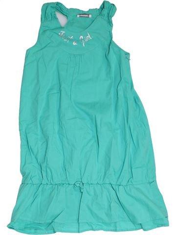 Vestido niña 3 POMMES azul 10 años verano #1325441_1