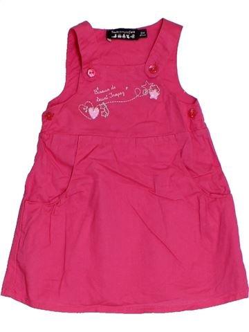 Vestido niña TOUT COMPTE FAIT rosa 3 meses verano #1325561_1