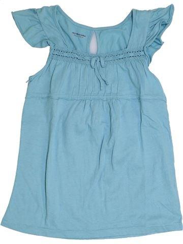T-shirt manches courtes fille VERTBAUDET bleu 10 ans été #1325713_1
