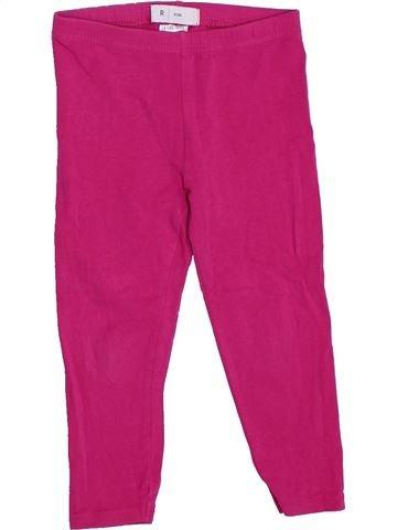 Legging niña LA REDOUTE CRÉATION rosa 3 años verano #1325977_1