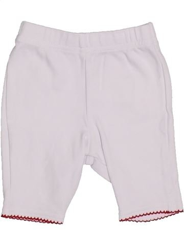Pantalón niña BERLINGOT blanco 3 meses verano #1326073_1