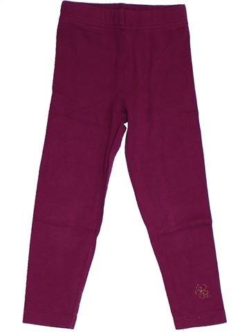 Legging fille ORCHESTRA violet 3 ans été #1326387_1