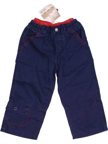 Pantalon garçon DPAM bleu 2 ans été #1326469_1