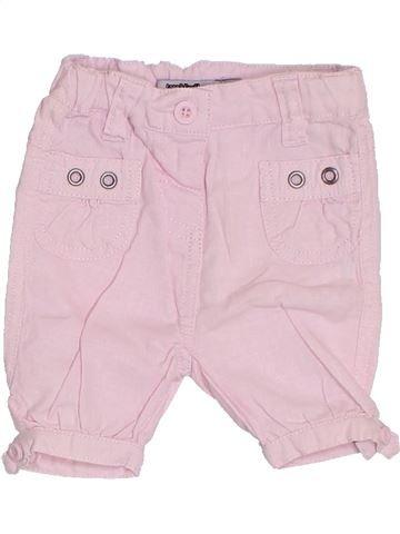 Pantalon fille TAPE À L'OEIL rose 6 mois été #1326552_1