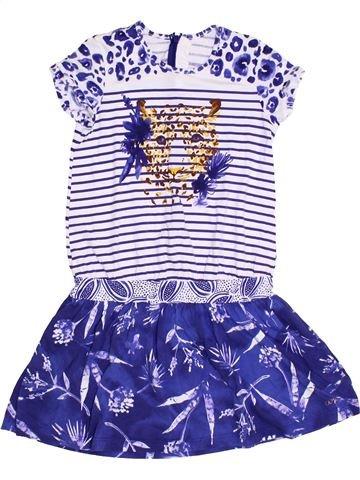 Robe fille CATIMINI violet 10 ans été #1326788_1