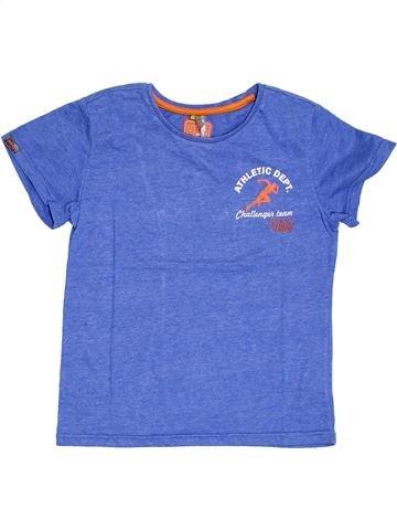 T-shirt manches courtes garçon ORCHESTRA bleu 10 ans été #1326961_1