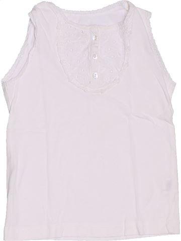 Camiseta sin mangas niña CFK blanco 4 años verano #1326974_1
