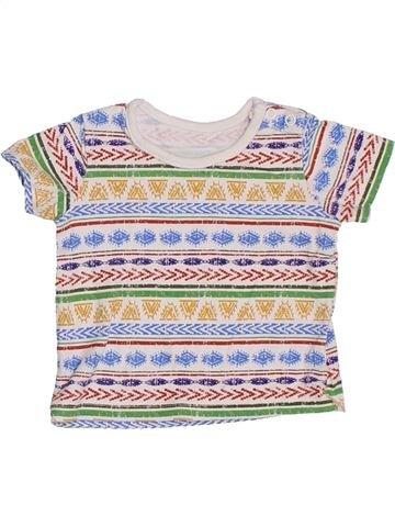 T-shirt manches courtes garçon MATALAN blanc naissance été #1327534_1