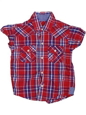 Camisa de manga corta niño DUNNES STORES violeta 4 años verano #1327787_1