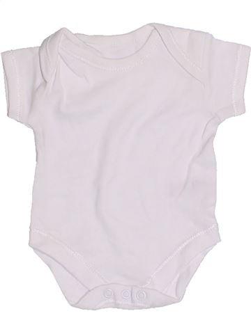 T-shirt manches courtes unisexe GEORGE blanc prématuré été #1328403_1