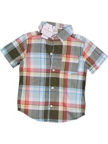 Camisa de manga corta niño CARTER'S violeta 3 años verano #1328598_1