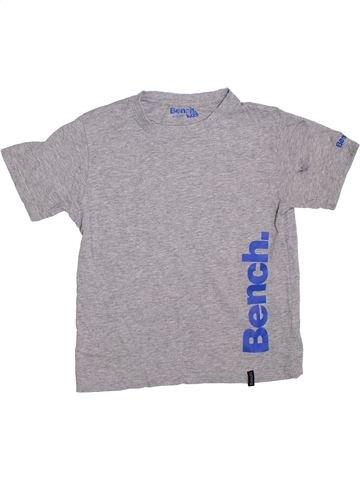 T-shirt manches courtes garçon BENCH gris 10 ans été #1329165_1