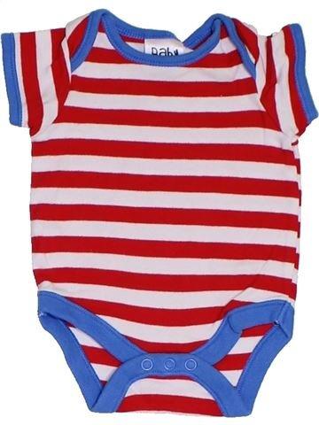 T-shirt manches courtes garçon BABY rouge naissance été #1329232_1