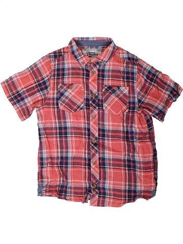 Chemise manches courtes garçon TRUE DUDES marron 9 ans été #1329574_1