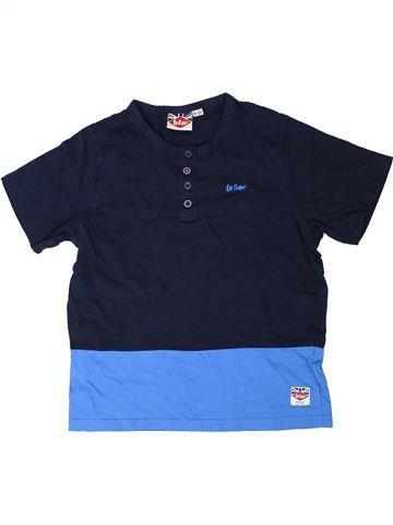 T-shirt manches courtes garçon LEE COOPER bleu 10 ans été #1329622_1