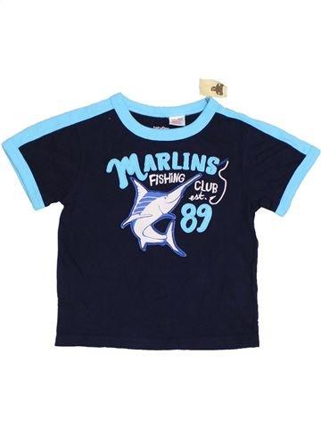 T-shirt manches courtes garçon GAP bleu 2 ans été #1329721_1