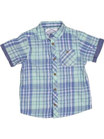 Chemise manches courtes garçon AWESOME APPAREL bleu 5 ans été #1330147_1