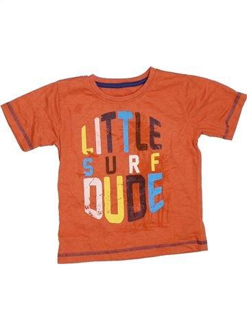 T-shirt manches courtes garçon DUNNES STORES orange 2 ans été #1330179_1
