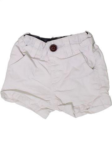 Short - Bermuda garçon NEXT blanc 6 mois été #1330362_1