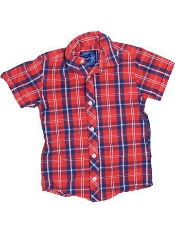 Camisa de manga corta niño DEBENHAMS rosa 6 años verano #1330488_1