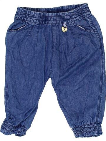 Pantalón niña CHICCO azul 6 meses verano #1330558_1