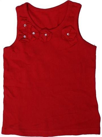 Camiseta sin mangas niña DUNNES STORES rojo 5 años verano #1330903_1