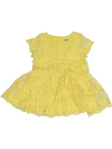 Robe fille NEXT jaune 6 mois été #1330905_1